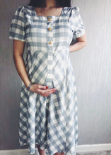 Load image into Gallery viewer, Penelope Gingham Midi Dress