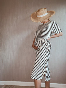 Inez Striped Dress