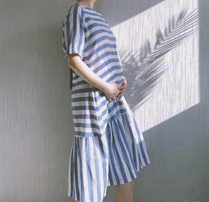 Layne Linen Striped Dress