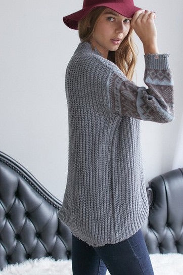 Distressed Sweater *FINAL SALE*