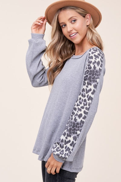 Animal Print Sleeve