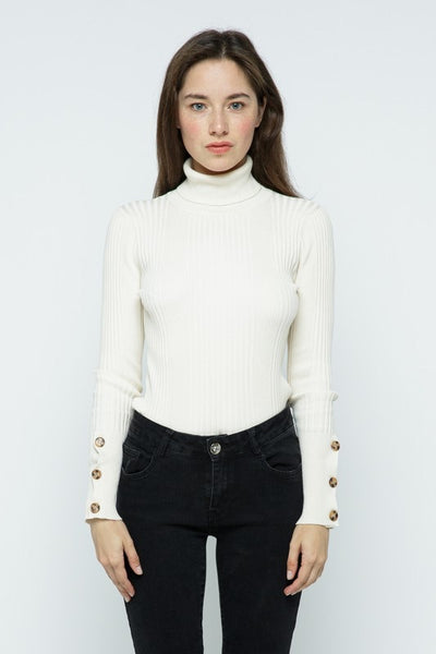 Ribbed Turtleneck *FINAL SALE*