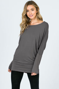Banded Dolman Tunic