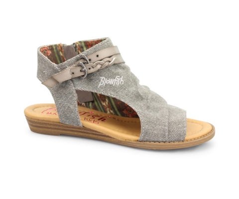 Open Toe Canvas Sandal