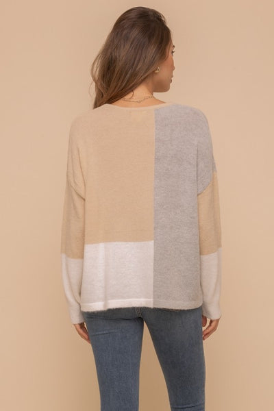 Color Block Sweater *FINAL SALE*