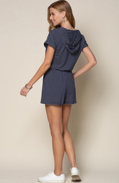 Pin Striped Romper