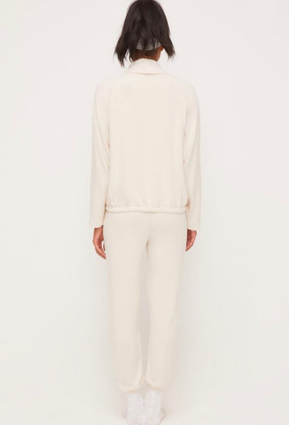 Drawstring Turtleneck Top
