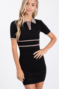 Varsity Stripe Bodycon Dress *FINAL SALE*