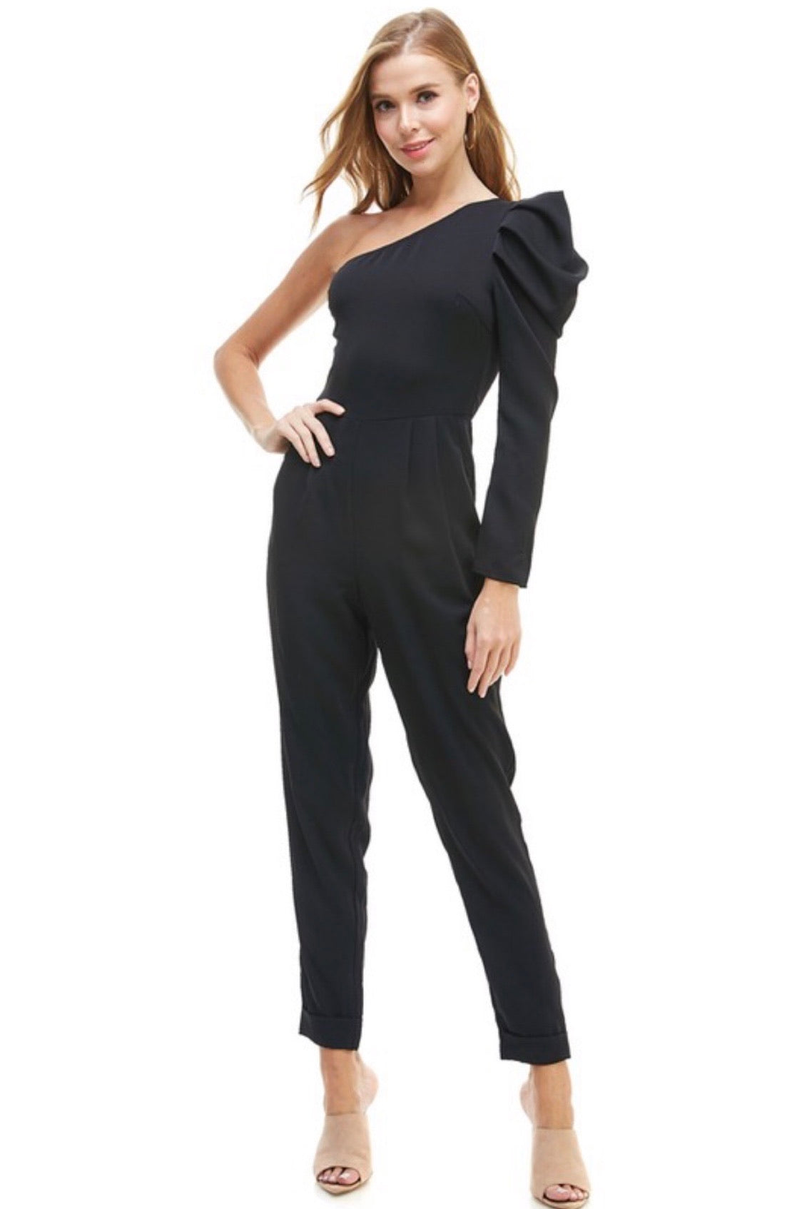 One Sleeve Jumpsuit