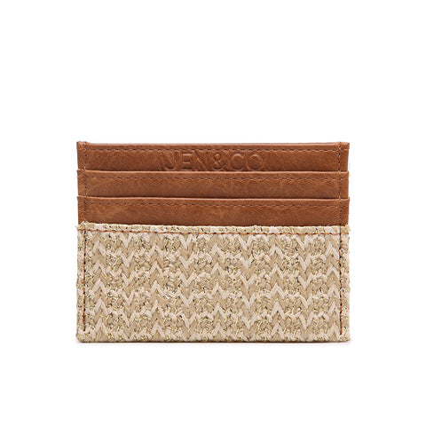 Vegan Leather Detail Wallet