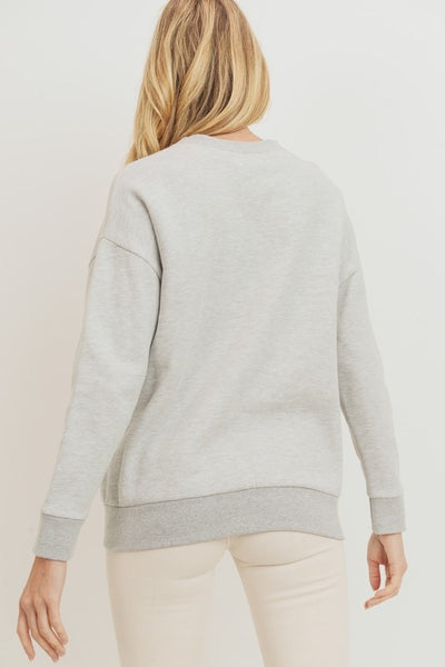 Fleece Lined Pullover *FINAL SALE*