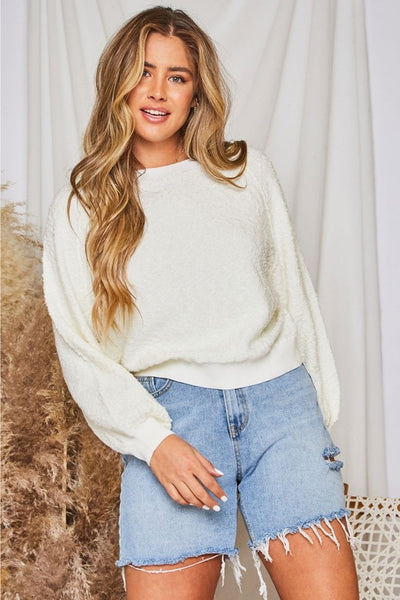 Textured Knit Sweater *FINAL SALE*