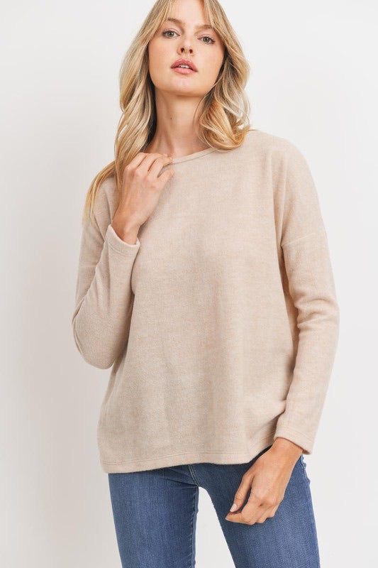 Brushed Knit Top *FINAL SALE*