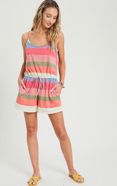 Striped Romper *FINAL SALE*