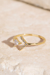 Arrow and Triangle Ring