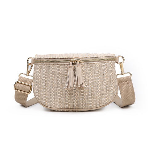 Tassel Zip Belt Bag