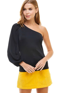One Sleeve Blouse