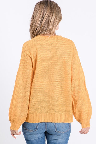 Cable Knit Sweater *FINAL SALE*