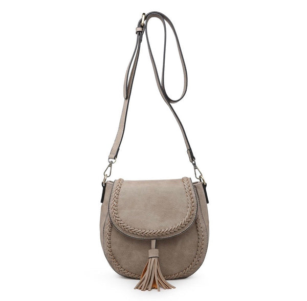 Braided Detail Saddle Bag