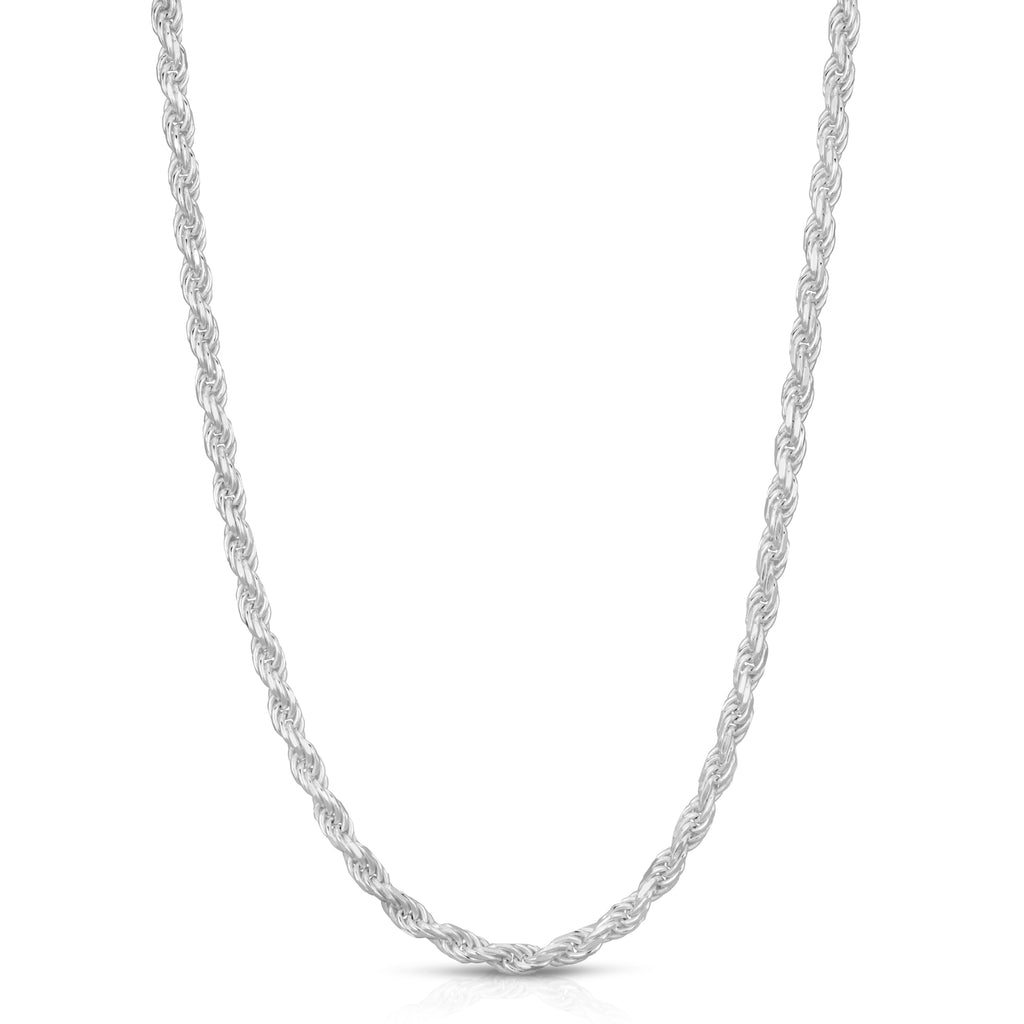 3mm Rope Sterling Silver chain