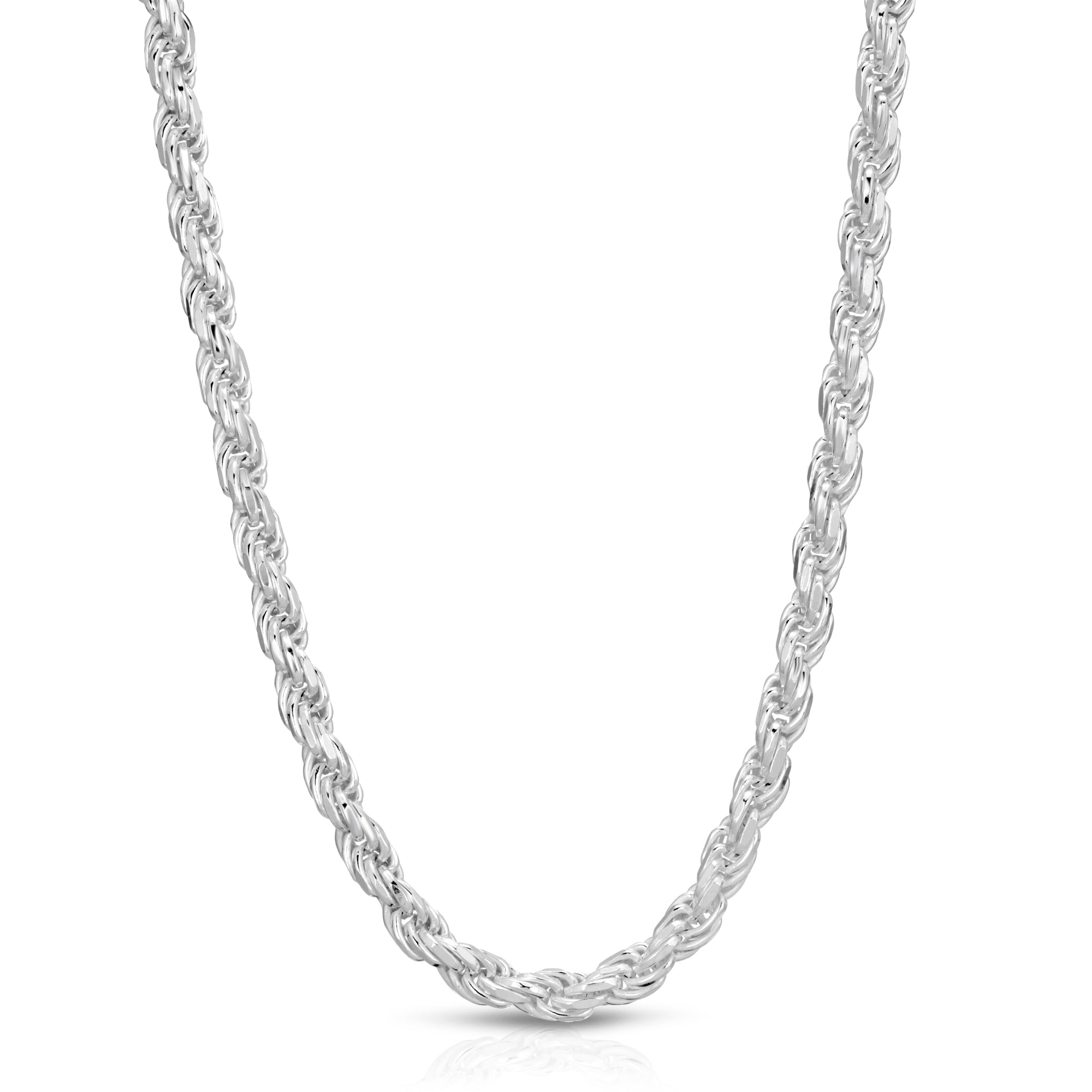 5.5mm Sterling Silver Rope Chain