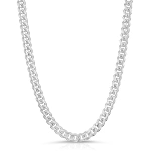 6mm Sterling silver Miami Cuban Link Chain