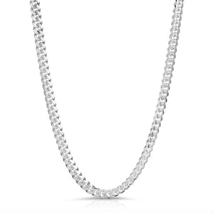5.5mm 925 sterling silver box lock chain