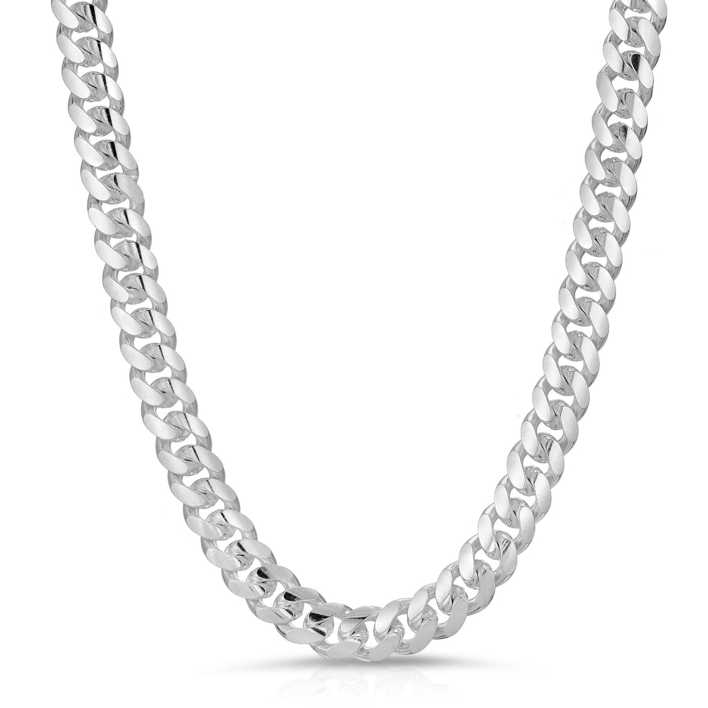 Cuban box lock chain necklace