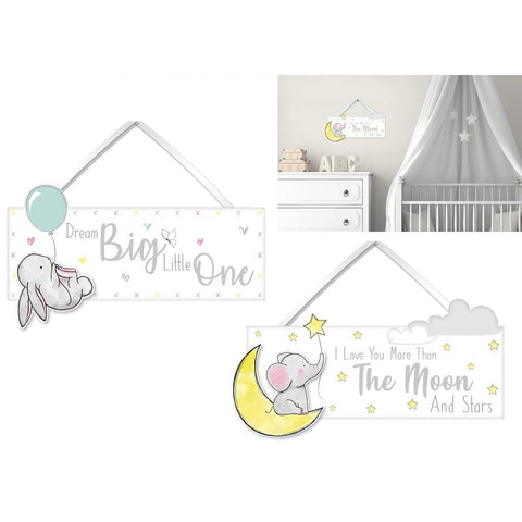 Baby Room Plaque Wall Decoration