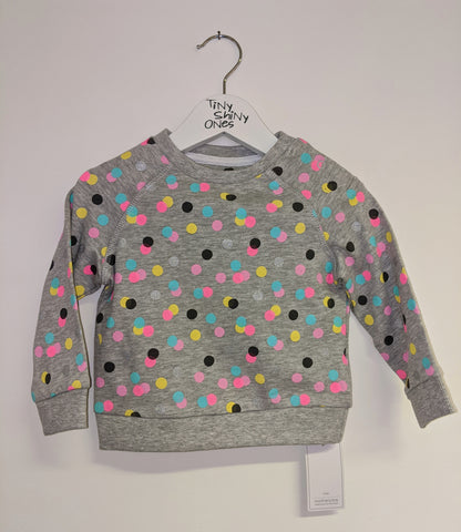 Girl Neon Spot Sweater
