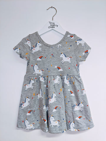 Grey Unicorn Dress