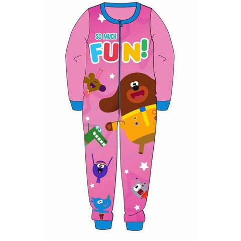 Hey Duggee Microfleece All in one