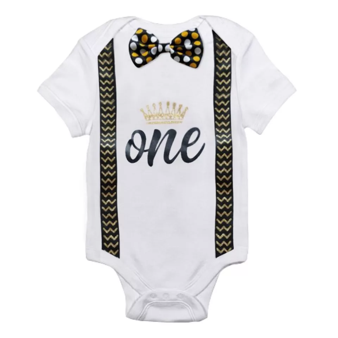 Boys First Birthday Bodysuit
