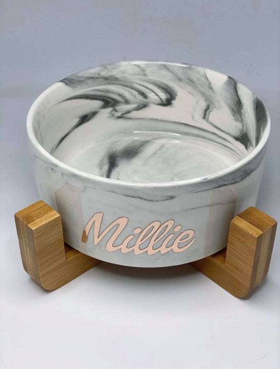 Personalised Bowl by Luxe Dog Boutique