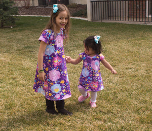 Matching Girls Swing Dress