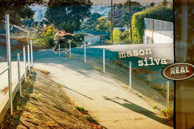 Mason Silva en Real Skateboards