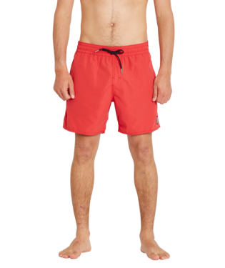 VOLCOM LIDO SOLID TRUNK 16 RED