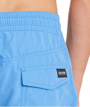 VOLCOM LIDO SOLID TRUNK 16 BLUE
