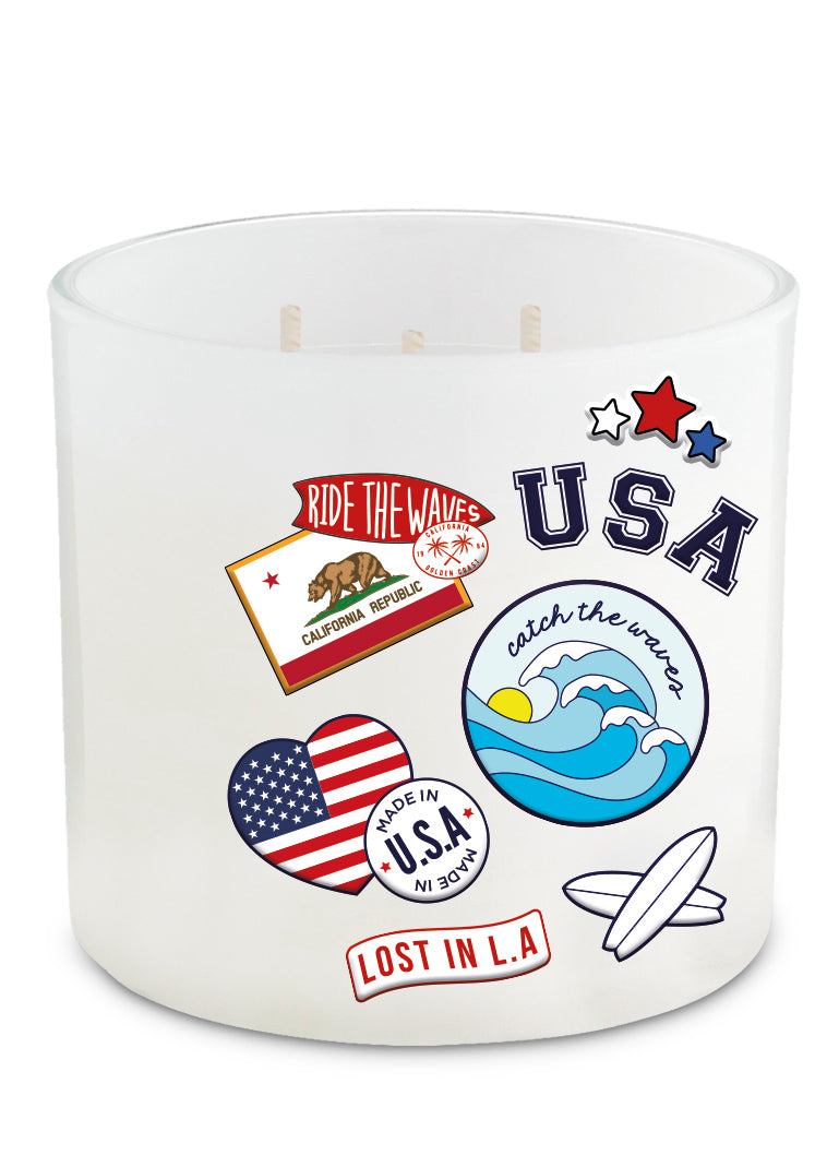 Vela parche XL USA