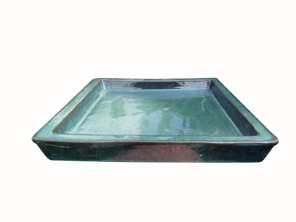 Saucer Square Glazed