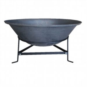 Steel Bowl With Stand