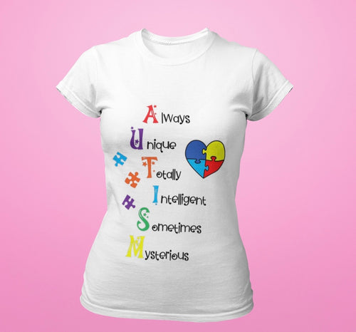 Autism awareness tshirt