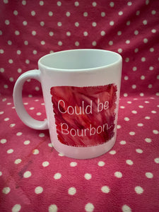 Could be coffee could be bourbon mug