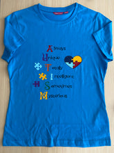 Load image into Gallery viewer, Autism awareness tshirt