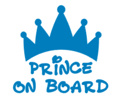 Prince on board at decal