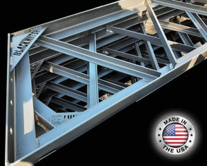 "2"" Angle Iron Truss with Blackwater Truss Badge"
