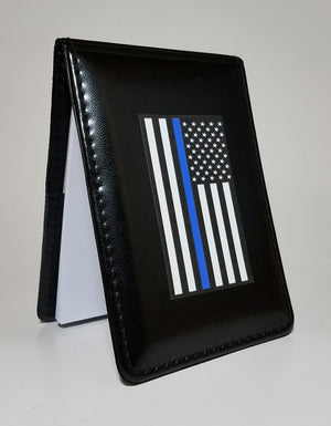 Thin Blue Line Flag Patrol Notebook