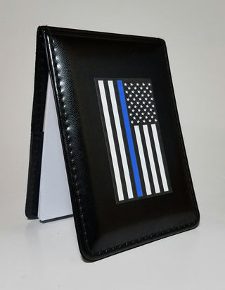 Blue Line Flag Patrol Notebook