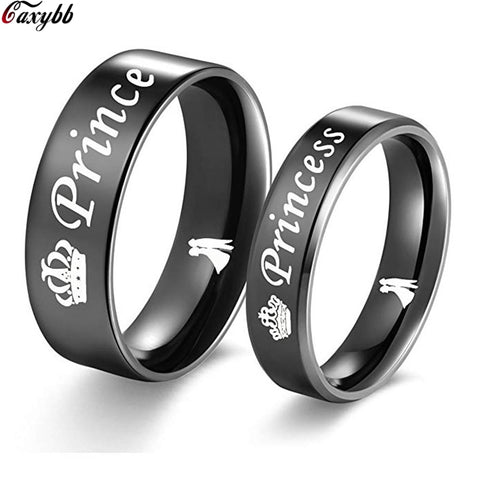Prince, Princess Stainless Steel Rings