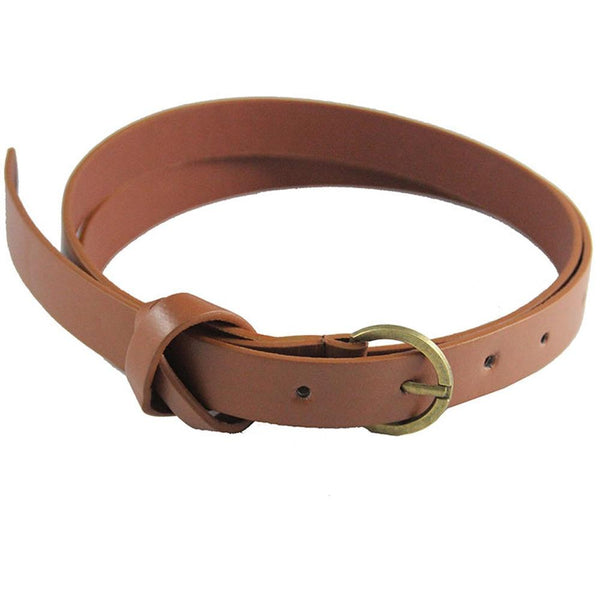 Retro Copper 8 Word Decorative Belt